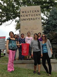 Western Kentucky University campus visit